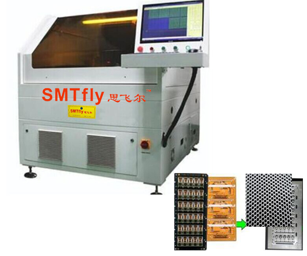 Power pcb depaneling laser,SMTfly-5S