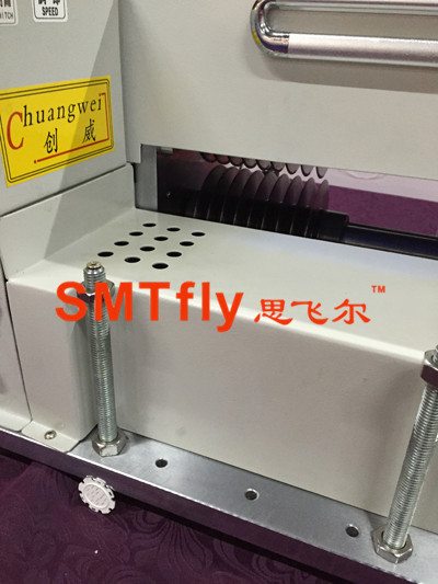 multiple groups of blades pcb cutting equipment,SMTfly-5